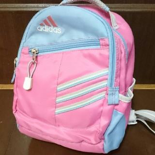 アディダス(adidas)のアディダスリュック ピンク 女の子 入園準備 遠足  幼稚園 保育園(リュックサック)