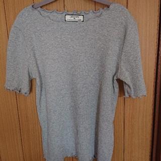 シマムラ(しまむら)の半袖 しまむら グレー Tシャツ(Tシャツ(半袖/袖なし))