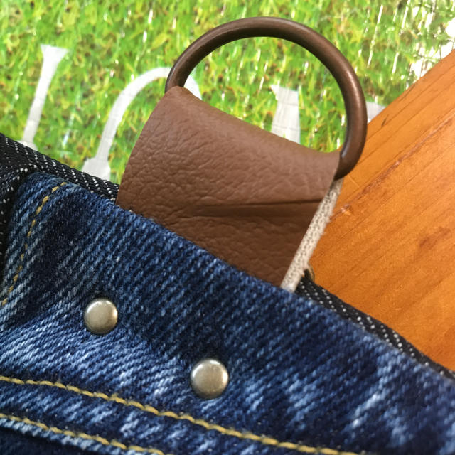 キーケース⭐【¥900】4連キー/スマートキー/カードキー入れに꒡̈⃝✰︎ ハンドメイドのファッション小物(キーケース/名刺入れ)の商品写真