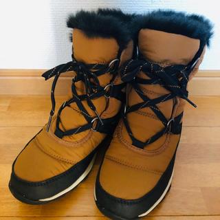 ソレル(SOREL)の極美品 ソレル ウィットニーショートレース(ブーツ)