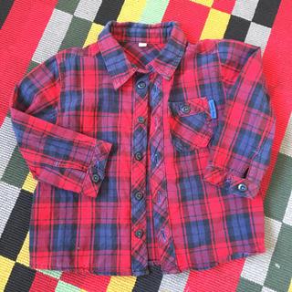 シマムラ(しまむら)のチェックのシャツとカットソー※5月上旬削除予定(Tシャツ/カットソー)