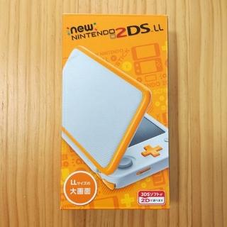 ニンテンドー2DS(ニンテンドー2DS)の【新品未開封】newニンテンドー2DS LL ホワイト×オレンジ(携帯用ゲーム本体)