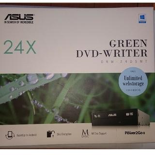 エイスース(ASUS)の新品 内蔵型DVDディスクドライブ SATA DRW-24D5MT ASUS(PCパーツ)