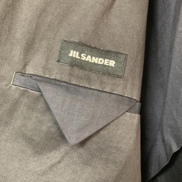 Jil Sander(ジルサンダー)のJIL SANDER コットンジャケット イタリア製 メンズのジャケット/アウター(テーラードジャケット)の商品写真