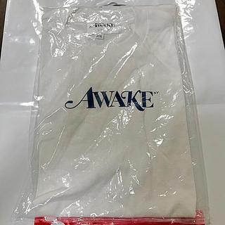 アウェイク(AWAKE)の新品 Lサイズ AWAKE NY LOGO TEE Tシャツ アウェイク(Tシャツ/カットソー(半袖/袖なし))