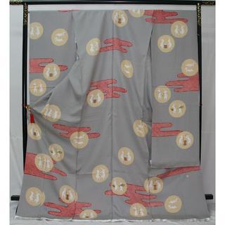 ◆大橋歩の着物◆特別特価◆新品未仕立て振袖◆お誂えお仕立て付き◆(振袖)
