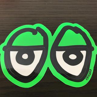 KROOKED - 【縦10cm横14.5cm】krooked eyesステッカー