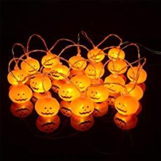大人気ハロウィン電飾 LEDライト イルミネーションライト パンプキンライト(蛍光灯/電球)