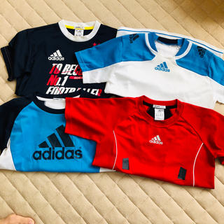 アディダス(adidas)のアディダス   4枚セット(Tシャツ/カットソー)