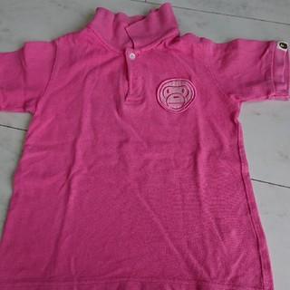 アベイシングエイプ(A BATHING APE)のベイプキッズ ポロシャツ(Tシャツ/カットソー)