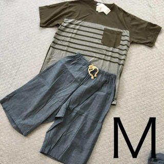 シマムラ(しまむら)の☆299☆メンズ パジャマ Mサイズ(Tシャツ/カットソー(半袖/袖なし))