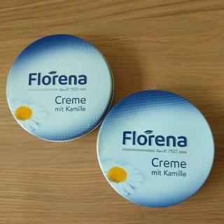 限定入荷!オーガニックの定番!Florena クリーム缶150ml 2個セット (ハンドクリーム)