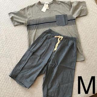 シマムラ(しまむら)の☆300☆メンズ パジャマ Mサイズ(Tシャツ/カットソー(半袖/袖なし))