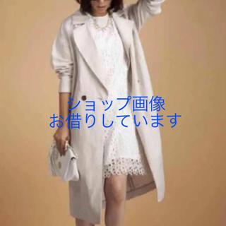 ジーユー(GU)の【送料込】リネンブレンドコート M  (トレンチコート)