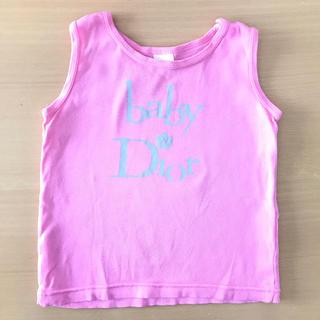 ベビーディオール(baby Dior)のbaby Dior タンクトップ 80(タンクトップ/キャミソール)