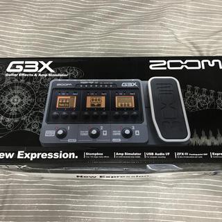 ズーム(Zoom)のzoom g3x マルチエフェクター(エレキギター)