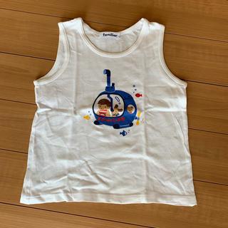 ファミリア(familiar)のファミリア タンクトップ 110cm(Tシャツ/カットソー)
