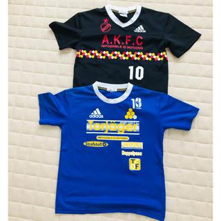 アディダス(adidas)のアディダス  Tシャツ  2枚セット(Tシャツ/カットソー)