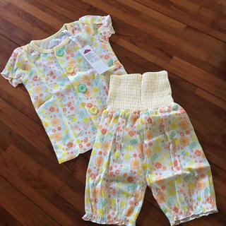 8cda1a5c862d6 イオン(AEON)の新品☆タグ付き 半袖パジャマ 80(パジャマ)