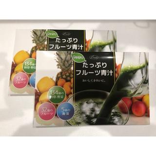 【新品・未開封】めっちゃたっぷりフルーツ青汁30包 2箱セット(青汁/ケール加工食品 )