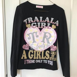 トゥララ(TRALALA)のTRALALA ロンT ブラック(Tシャツ(長袖/七分))