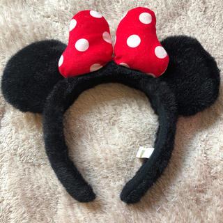ディズニー(Disney)のミニー かぶりもの カチューシャ ディズニー 最終値下げ(キャラクターグッズ)