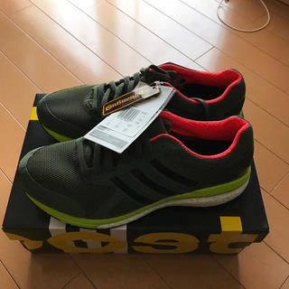 アディダス(adidas)のアディダス アディゼロテンポブースト ワイドランニングシューズ 新品(シューズ)