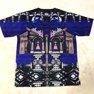 ジョイリッチ(JOYRICH)のジグユアアイドルTシャツ【ブルー】(Tシャツ(半袖/袖なし))