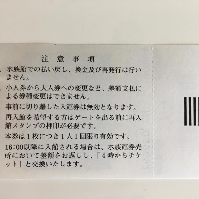 沖縄美ら海水族館  チケット チケットの施設利用券(水族館)の商品写真