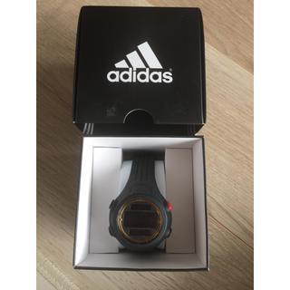 アディダス(adidas)のadidas  アディダス  腕時計 スポーツ  黒  ブラック  箱あり(腕時計)