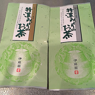 イトウエン(伊藤園)の伊藤園の狭山茶 緑茶100g2個セット(茶)