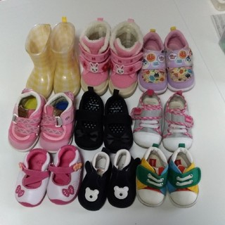ミキハウス(mikihouse)の【バラ売り可】11.0~13.5cm 靴まとめ売り(スニーカー)