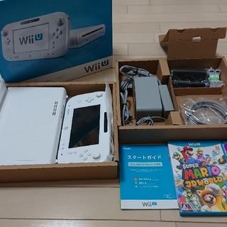 ウィーユー(Wii U)の即決可・送料無料・wiiU プレミアムセット+ソフト2本(家庭用ゲーム本体)