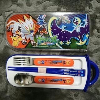 ポケモン(ポケモン)のポケットモンスターサン&ムーン/食洗機対応スライド式トリオセット(弁当用品)