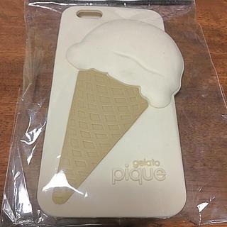 ジェラートピケ(gelato pique)のジェラートピケ スマホケース アイスクリーム(iPhoneケース)