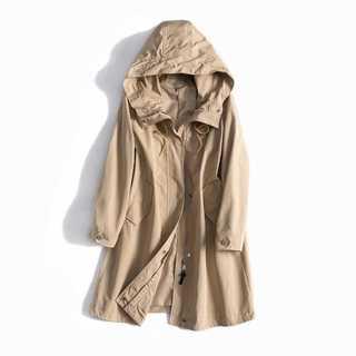 春のモッズジャケット♡ 膝丈 大人のミリタリー ベージュ(モッズコート)