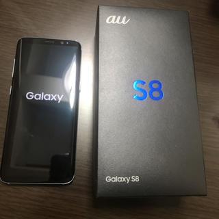 サムスン(SAMSUNG)のGALAXY s8  ブルー  美品   SIMフリー(スマートフォン本体)