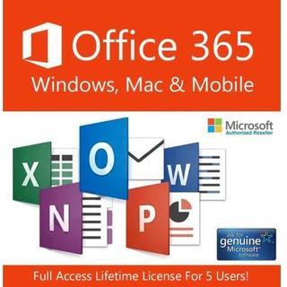 Office 365 Pro Plus(Win&Mac PC5台+モバイル5)(その他)