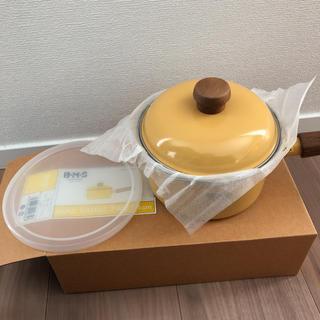フジホーロー(富士ホーロー)の専用 富士ホーロー HoneyWare  ミニソースパン  ミルクパン(鍋/フライパン)
