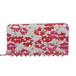 クリスチャンルブタン(Christian Louboutin)のルブタン  唇柄長財布(長財布)