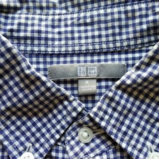 ユニクロ(UNIQLO)のメンズシャツ ユニクロ Mサイズ(シャツ)