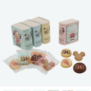 Disney - アソーテッド クッキー 紙箱 36周年 ディズニー ランド