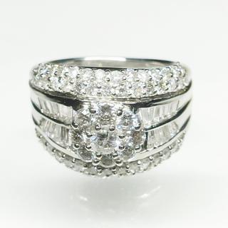 値下げ 新品❣️Pt900 ダイヤモンド リング 指輪 豪華 綺麗 女子 メンズ(リング(指輪))