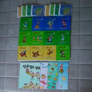 ディズニー(Disney)のシングアロングDVD12枚・CD8枚・ポスター4枚☆DWEディズニー英語(キッズ/ファミリー)