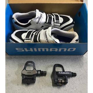 SHIMANO - ロードバイク ビンディングシューズ  ペダル