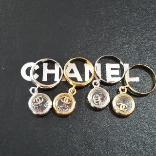 シャネル(CHANEL)の揺れるジルコニアラインストーン入指輪リング(リング(指輪))