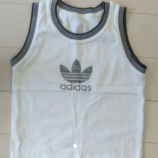 アディダス(adidas)のadidas タンクトップ 100-110(Tシャツ/カットソー)