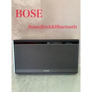 ボーズ(BOSE)のBOSE*Soundlink&Bluetoouh sqeakerⅡ(スピーカー)