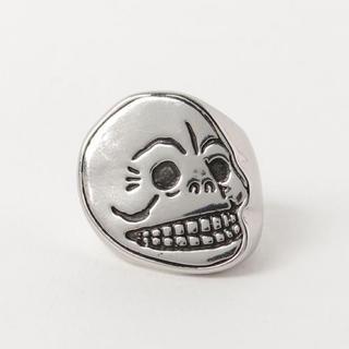 チープマンデー(CHEAP MONDAY)のSkull signet ring(リング(指輪))