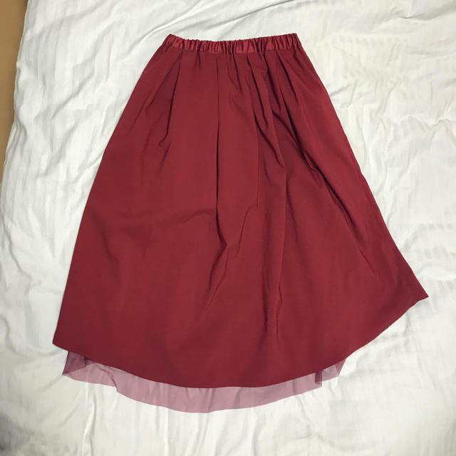 TIENS ecoute(ティアンエクート)のティアンエクート  リバーシブル チュールスカート レディースのスカート(ひざ丈スカート)の商品写真